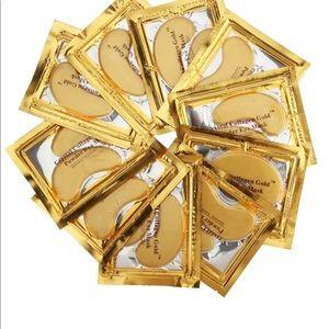 Other - 10 packs Crystal Collagen Gold powder Eye Mask